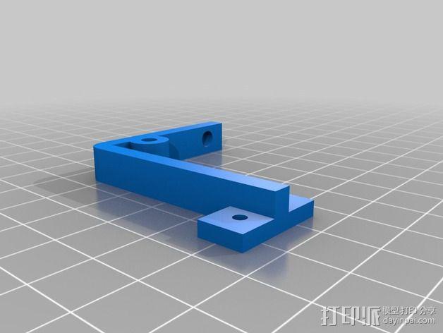 Prusa i3底座支架 3D模型  图2