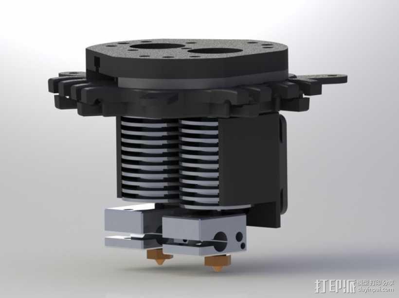 Rostock Max打印机 底座支架 3D模型  图1