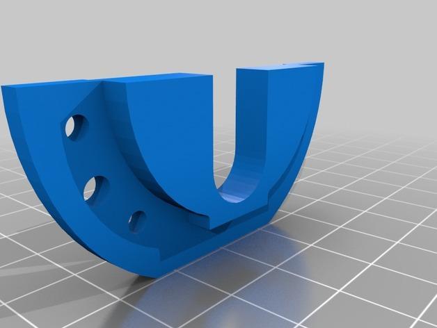 Rostock Max打印机 底座支架 3D模型  图4