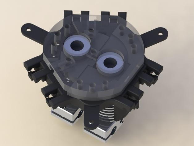 Rostock Max打印机 底座支架 3D模型  图7