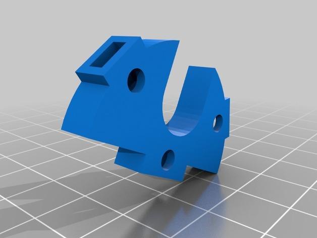 Rostock Max打印机 底座支架 3D模型  图5