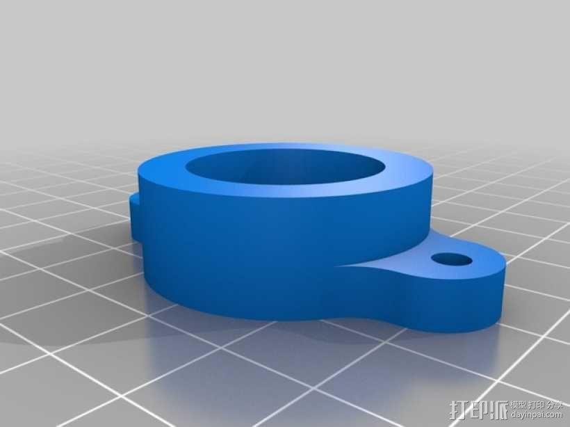 QU-BD OneUp/TwoUp打印机 3D模型  图5