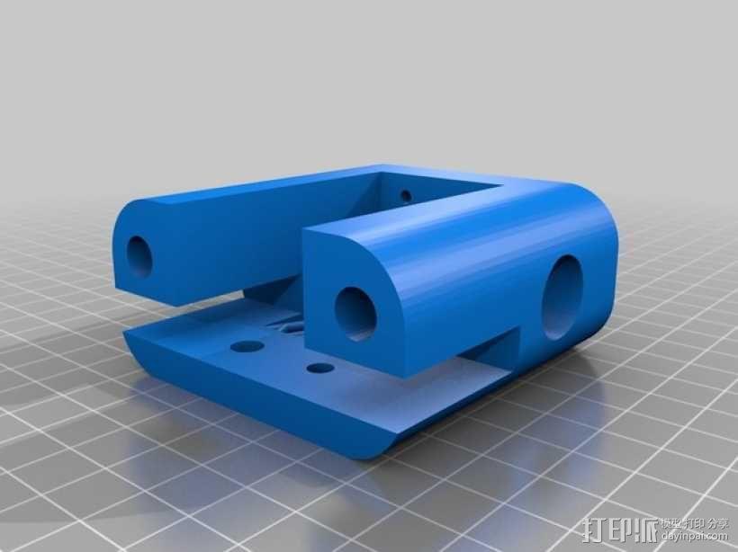 QU-BD OneUp/TwoUp打印机 3D模型  图8