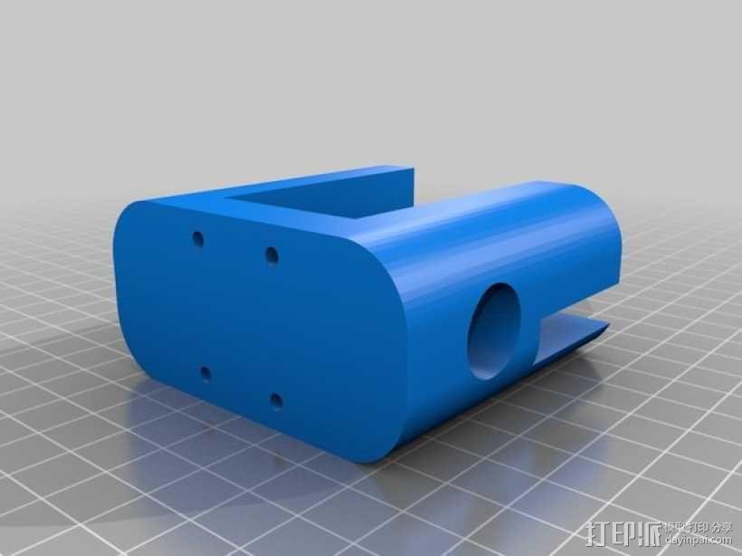 QU-BD OneUp/TwoUp打印机 3D模型  图7