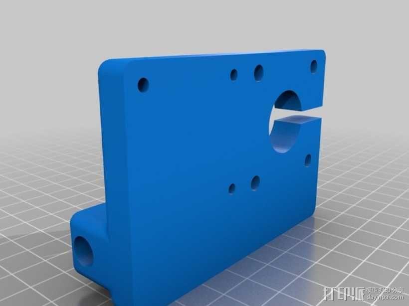 QU-BD OneUp/TwoUp打印机 3D模型  图10