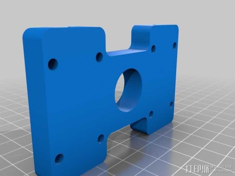 QU-BD OneUp/TwoUp打印机 3D模型  图9