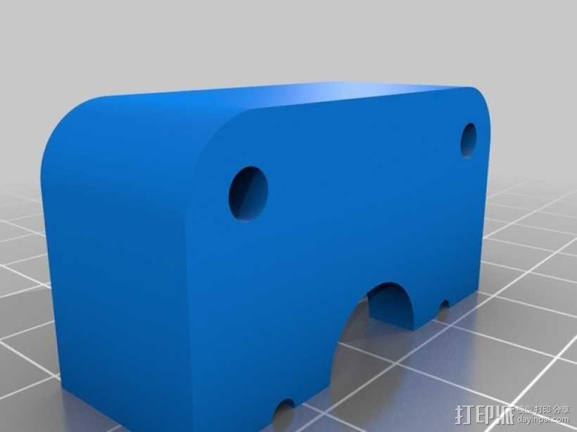 QU-BD OneUp/TwoUp打印机 3D模型  图12