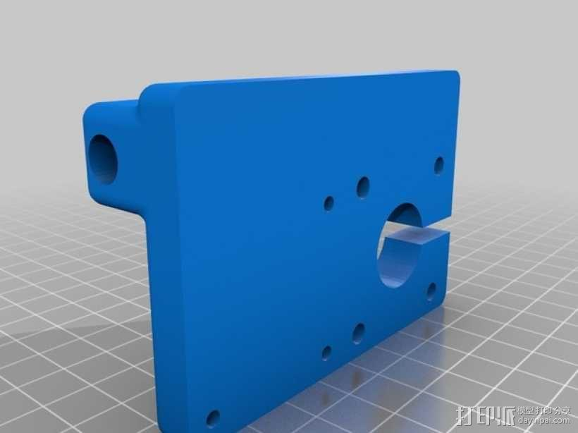 QU-BD OneUp/TwoUp打印机 3D模型  图11