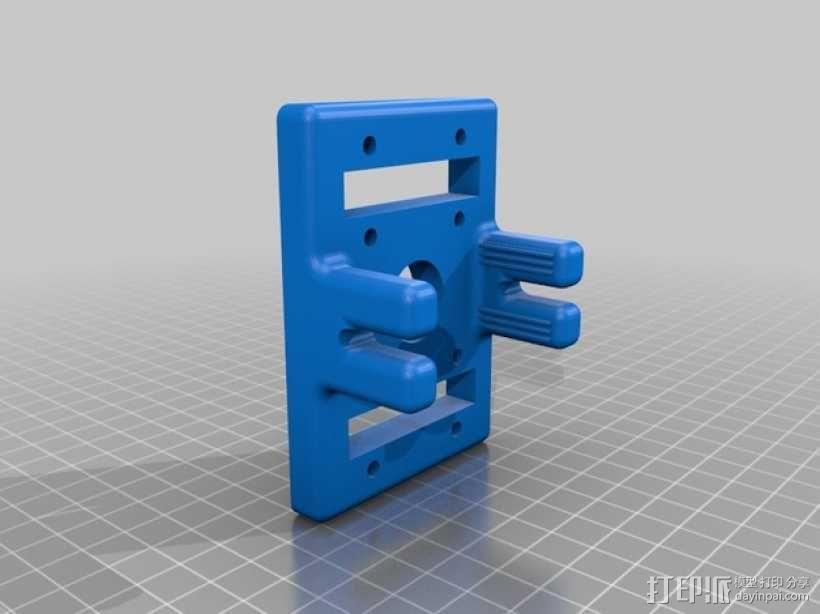 QU-BD OneUp/TwoUp打印机 3D模型  图15