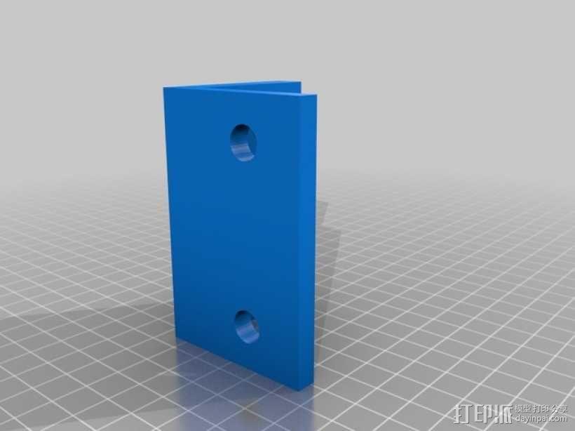 QU-BD OneUp/TwoUp打印机 3D模型  图16