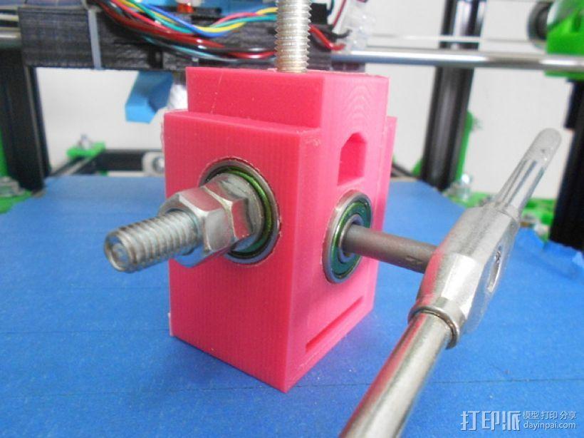 螺栓孔槽 3D模型  图1