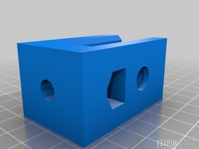 螺栓孔槽 3D模型  图2