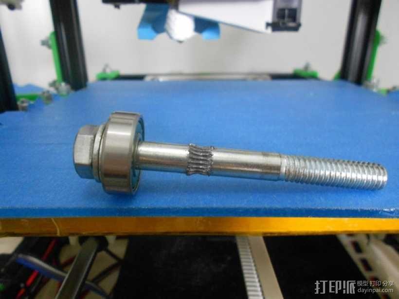 螺栓孔槽 3D模型  图4