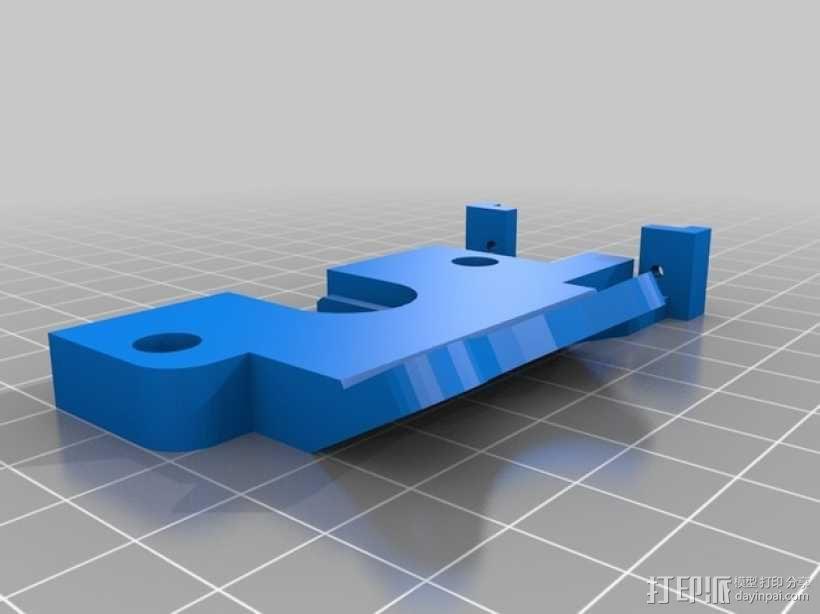Prusa i3打印机机床高度调节器 3D模型  图2
