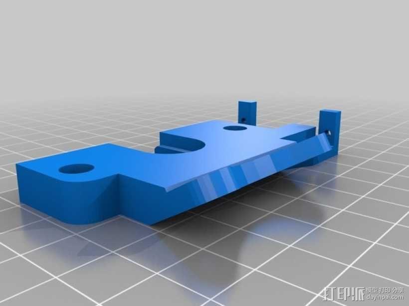Prusa i3打印机机床高度调节器 3D模型  图3