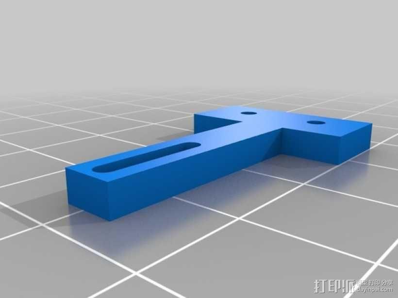 Prusa i3打印机机床高度调节器 3D模型  图4