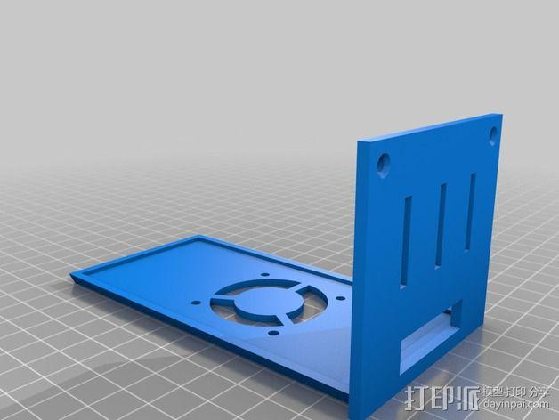 Prusa i3打印机外盒 3D模型  图2