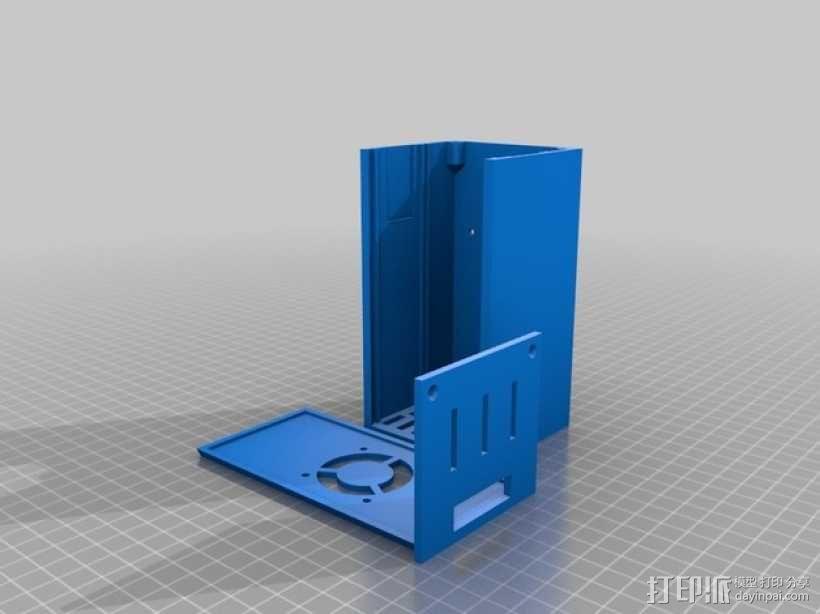 Prusa i3打印机外盒 3D模型  图1