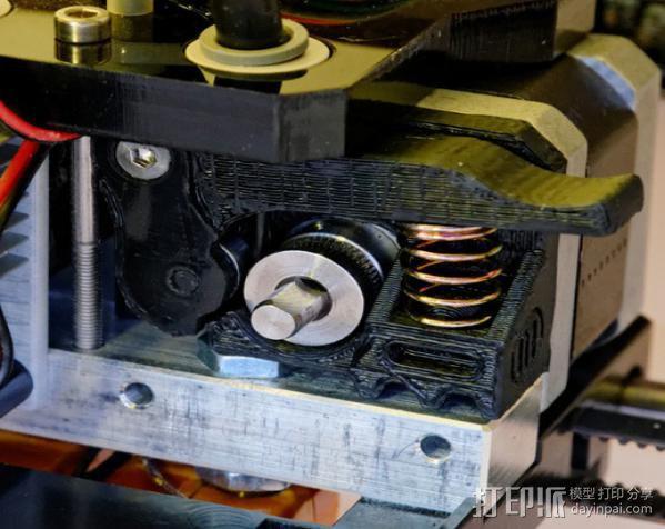 Replicator 1打印机马达驱动 3D模型  图8