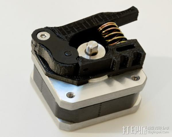 Replicator 1打印机马达驱动 3D模型  图6