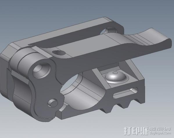 Replicator 1打印机马达驱动 3D模型  图10