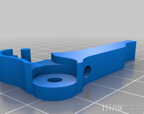 Replicator 1打印机马达驱动 3D模型  图16
