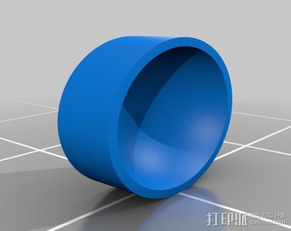 Replicator 1打印机马达驱动 3D模型  图17