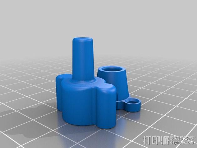 Replicator打印机滤尘器 3D模型  图2