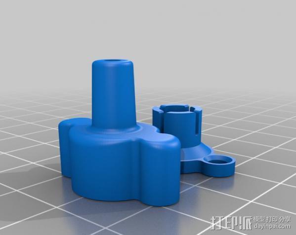 Replicator打印机滤尘器 3D模型  图4