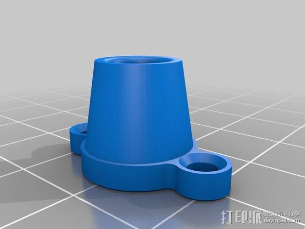 Replicator打印机滤尘器 3D模型  图3