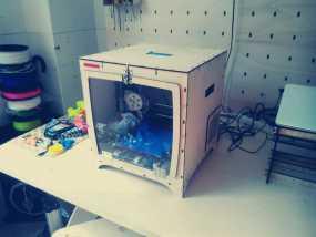 激光切割机 盒子 3D模型
