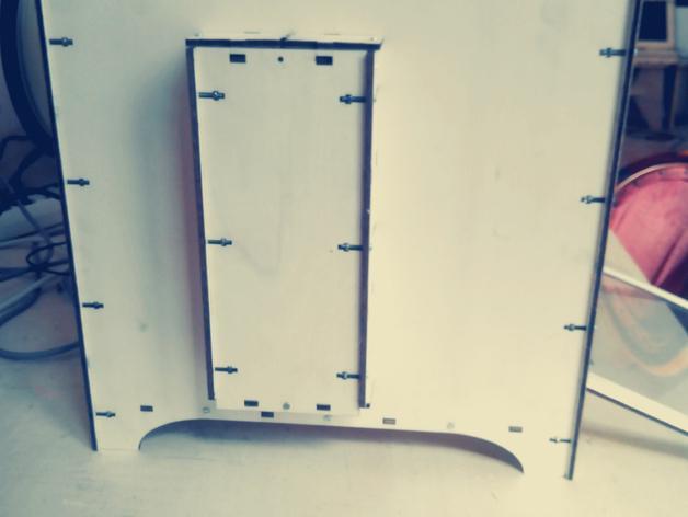 激光切割机 盒子 3D模型  图2