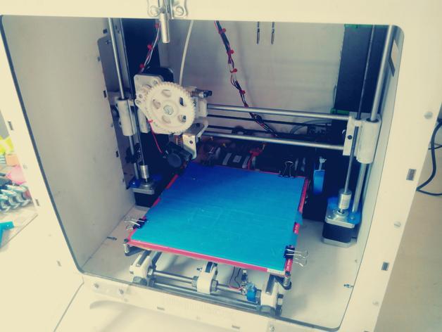 激光切割机 盒子 3D模型  图12