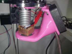 Kossel 800打印机通风导管 3D模型