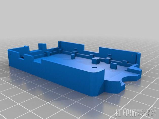 树莓派外壳 3D模型  图5