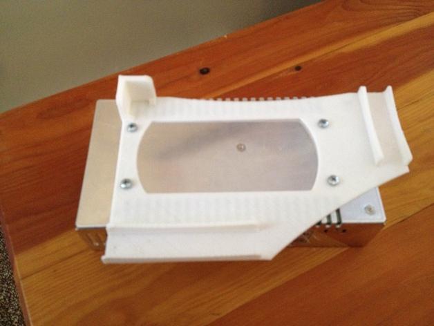 Rigidbot打印机电源供应底座 3D模型  图4