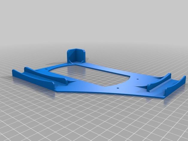 Rigidbot打印机电源供应底座 3D模型  图2