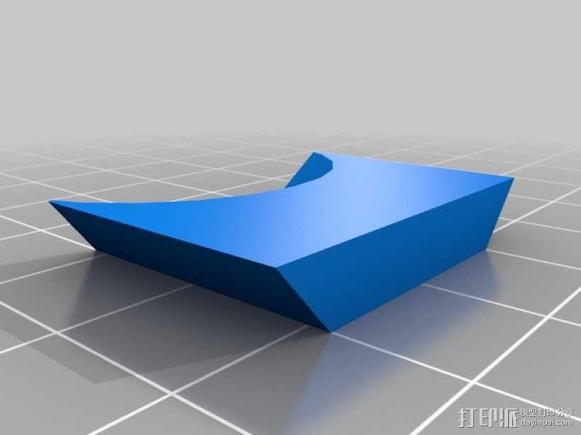 Makerbot Replicator 2X打印机摄像机支架 3D模型  图7