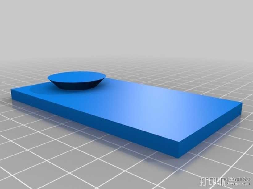 Makerbot Replicator 2X打印机摄像机支架 3D模型  图10