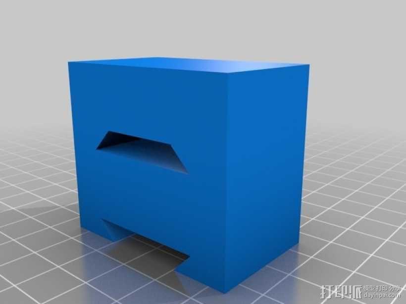 Makerbot Replicator 2X打印机摄像机支架 3D模型  图9