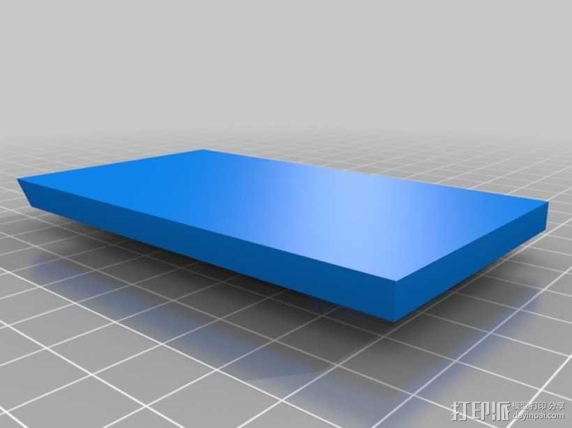 Makerbot Replicator 2X打印机摄像机支架 3D模型  图11