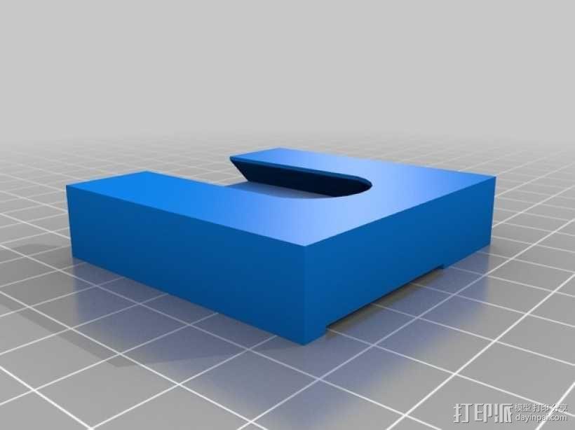 Makerbot Replicator 2X打印机摄像机支架 3D模型  图12