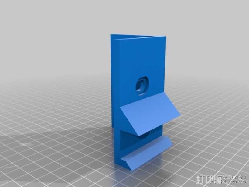 Makerbot Replicator 2X打印机摄像机支架 3D模型  图13