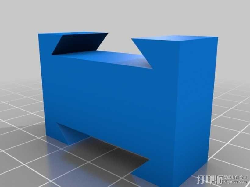 Makerbot Replicator 2X打印机摄像机支架 3D模型  图16