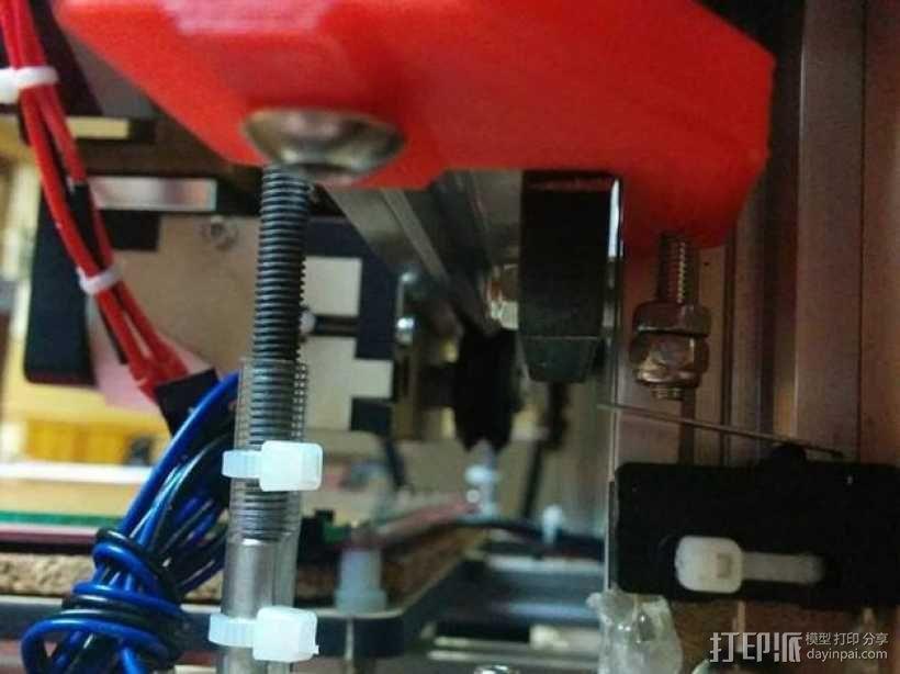 i3打印机限位开关 3D模型  图1
