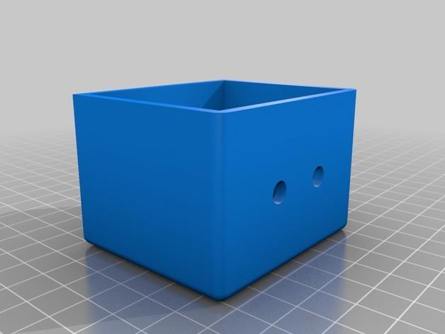 电源插座 开关盒 3D模型  图2