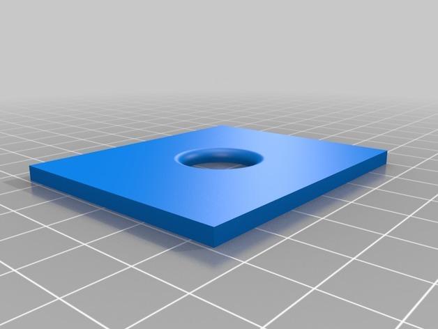 电源插座 开关盒 3D模型  图3