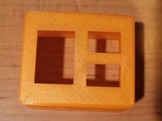 电源插座 开关盒 3D模型  图7