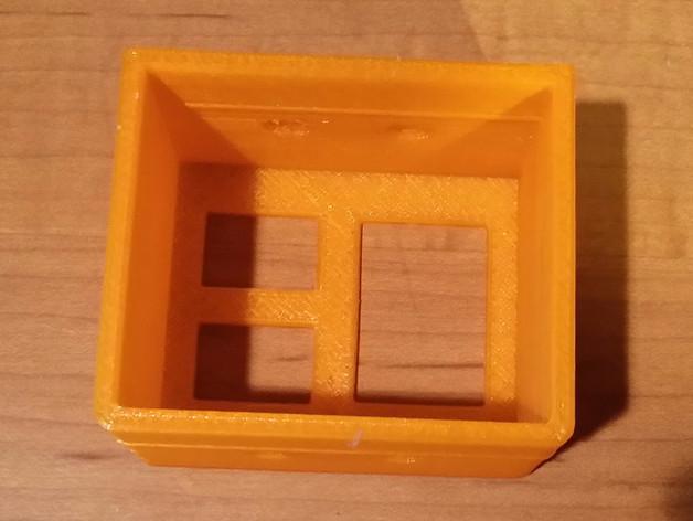 电源插座 开关盒 3D模型  图6