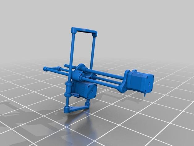 SparkinBot打印机门形架 3D模型  图12